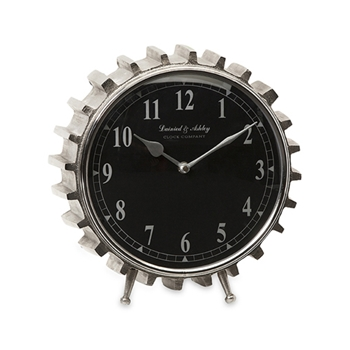 Carlton Gear Clock 10in
