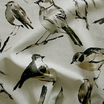 19. Patina Print Birdwatcher Charcoal