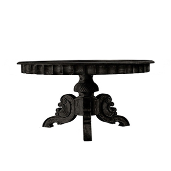 Table/ French Black 55RND/30H