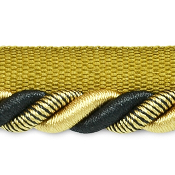 Cord-Lip Gold Black Leona 3/8in
