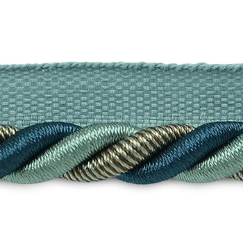 Cord-Lip Teal Leona 3/8in