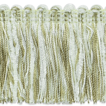 Moss Fringe Oyster Chenille 2in