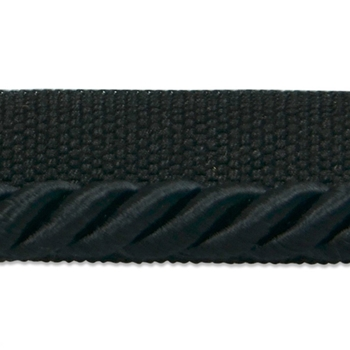 Cord-Lip Black Emerson 1/4in
