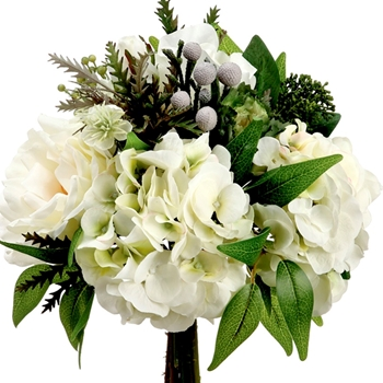 White Bouquet 9in