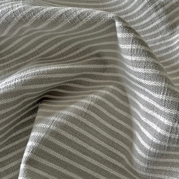 06. Flax Stripe Upstate Pewter