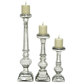 Balustra Mercury Candle Holder 11in