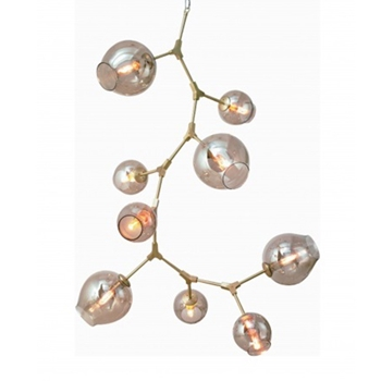 Gold Madrone Chandelier