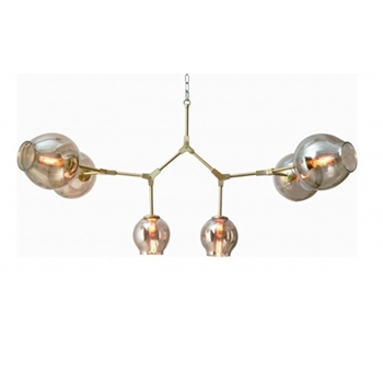 Madrone Gold Chandelier 52W/36H