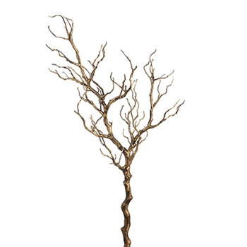 68. Gold Twig Branch 45in