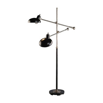 Bruno Double Task Lamp Bronze