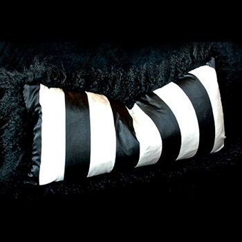 16. Blk/White Silk Stripe 24W/12H
