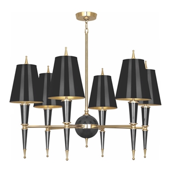 Versailles Chandelier Black/Gold
