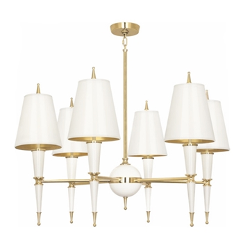 Versailles Chandelier White/Gold