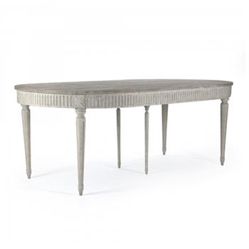 Martel Oval Table 80W/45D/30H