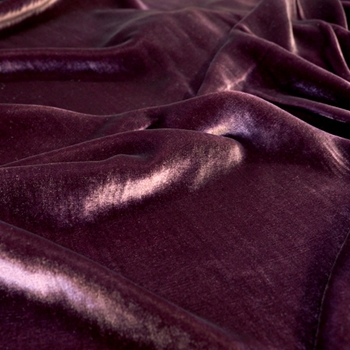 87. Plum Velvet Silk Solid