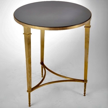 French Table Brass 22RND/26H