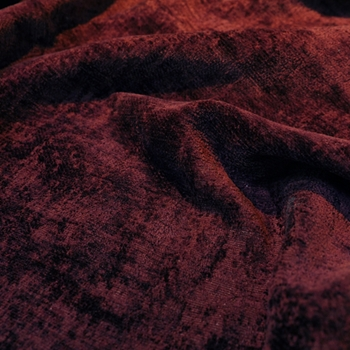 78. Rust Chenille Antique Wine