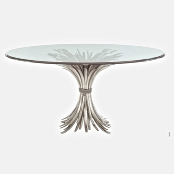 Somerset Table Nickel Glass 54W/30H