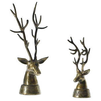 Deer Head Bronze 10W/8/24H