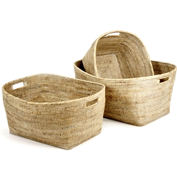 Family Baskets 28-21W/23-18W Burma WhiteW
