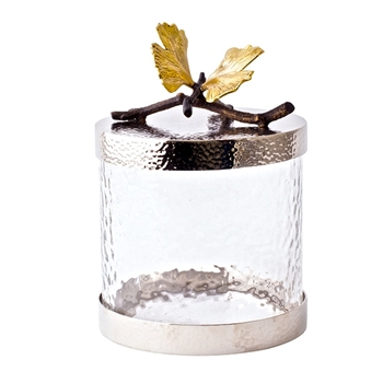 Aram Butterfly Gingko Canister XSM 5IN