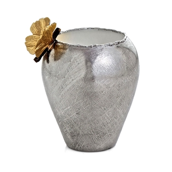 Aram Butterfly Gingko Bud Vase 4IN