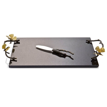 Aram Butterfly Gingko Board/Knife 17W/10W Black