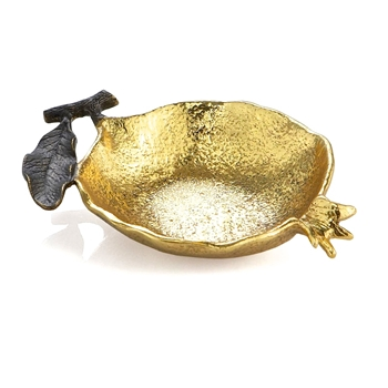 Aram Pomegranate Bowl 6IN Gold