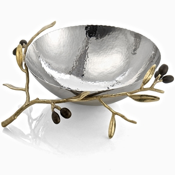Aram Olive Gold Bowl 10IN