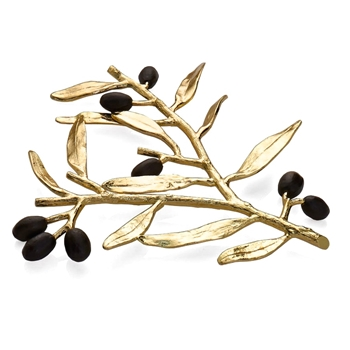 Aram Olive Gold Trivet 10IN