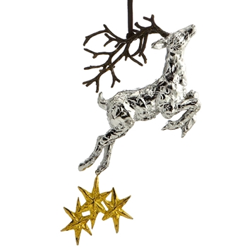 Aram Holiday Ornament Raindeer 7IN
