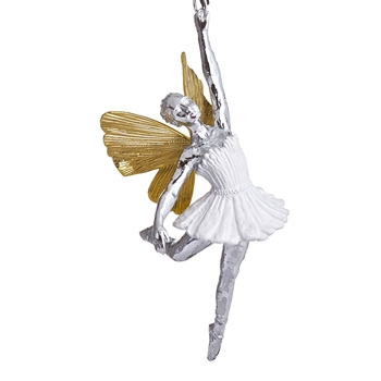 Aram Holiday Ornament Ballerina 6IN