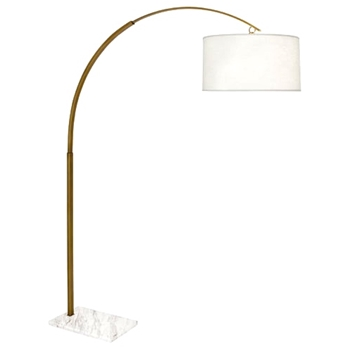 Lamp Floor Archer Brass 60W/80H