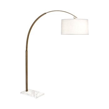Lamp Floor Archer Brass 53W/66H
