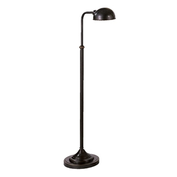 Lamp Floor Task Kinetic DK Bronze 15W/37-56H