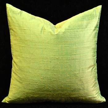 58.  Dupion Cushion Peridot 18SQ