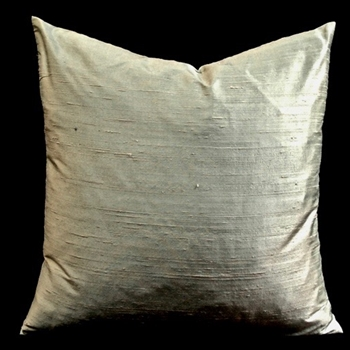 03. Dupion Cushion Oyster 18SQ