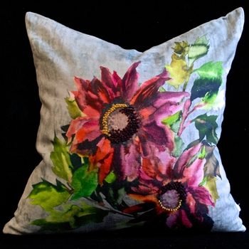 80. Indian Sunflower Cushion Berry 20SQ