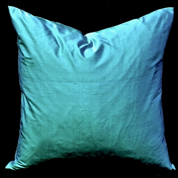 39. Shantung Silk Cushion Azure 18SQ