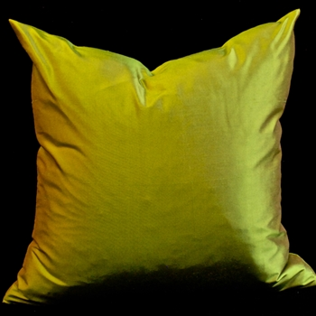 61. Shantung Silk Cushion Citron 18SQ