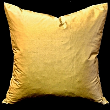 65. Shantung Silk Maize Cushion 18SQ