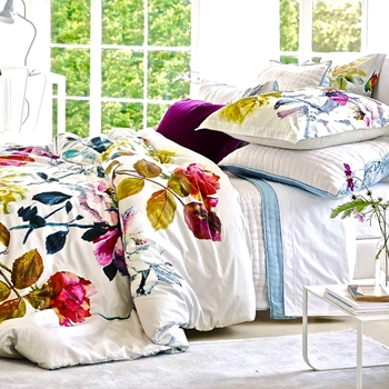 Designers Guild Couture Rose Fuchsia Bedding