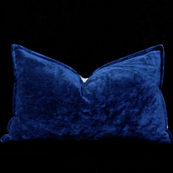 35. Rivoli Cushion Indigo 20W/12H
