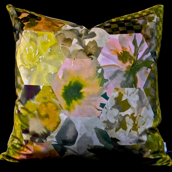 70. Kashmiri Ochre Cushion 22SQ