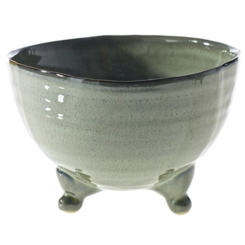 Planter - Willow Pot Bowl Footed 8W/5H