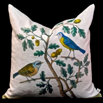 06. Parchment Cushion Titmouse 20SQ