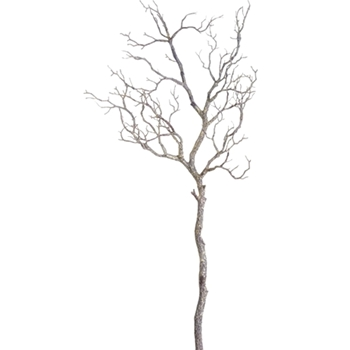 01. Twig Branch White Washed 38in