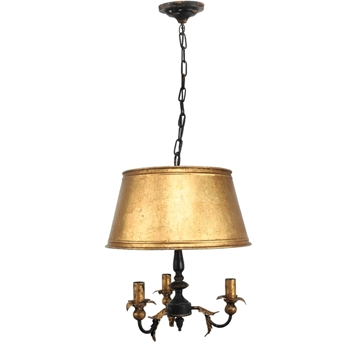 Chandelier Weston Gild 16W/21H 3 Light