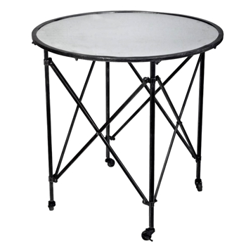 Accent Table - Gilbert Black 30W/30H Black