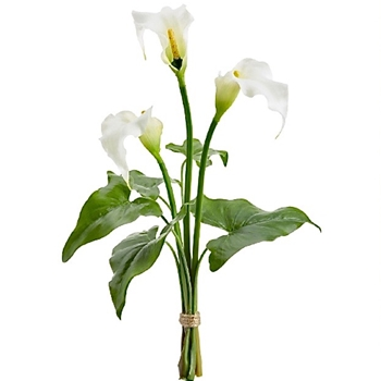 Calla Lily - Bundle of 3 19in - FSC169-WH
